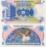 UGANDA       5 Shilingi       P-10       ND (1979)       UNC - Ouganda