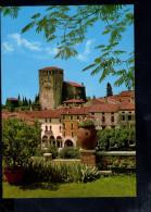 P3811 Piccolo Comune Di ASOLO ( TREVISO ) CASTELLO REGINA CORNARO Da CASA PASINI - SCHLOSS KONIGIN - Nn Viaggiata - Italia