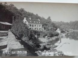 29 RIEC SUR BELON LE BELON UN COIN DU PORT - France