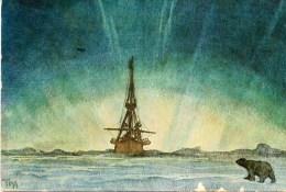 Polaire - Carte Transportée Par Le Bateau FRAM - Expédition Polaire Norvegienne En 1918 - Frankrijk