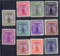 FM Dienstmarken MNH Signed (dd7) - Soviet Zone