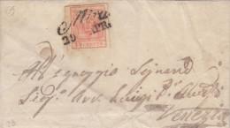 MA23 LOMBARDO VENETO MIRA 1857 Completa Di Testo - Lombardy-Venetia