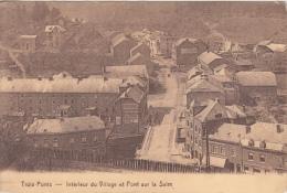 Trois Ponts      Intérieur Du Village Et Pont Sur La Salm      Nr 5930 - Trois-Ponts