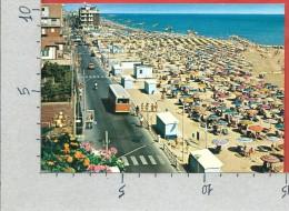 CARTOLINA VG ITALIA - RIMINI - VISERBA - La Spiaggia - 10 X 15 - ANN. 1982 - Rimini