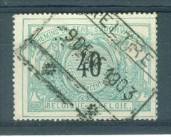 """BELGIE - OBP Nr TR 20 Cachet  """"AELTRE"""" - (ref. AD-1721) - Bahnwesen"""