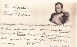 NAPOLEON/ Lettre De Napoléon Au Régent D'Angleterre/ Réf:C4058 - Politieke En Militaire Mannen