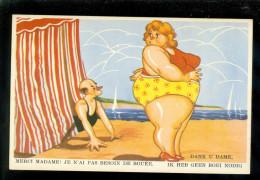Humor - Humour -  Plage - Strand - Mer - Zee - Humour