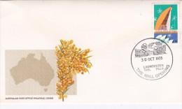 Australia 1975 Pictorial Postmark, Launceston The Mall Opening Souvenir Cover - 1966-79 Elizabeth II
