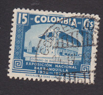 Colombia, Scott #449, Used, Stadium At Barranquila, Issued 1937 - Colombia