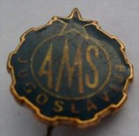 Jugoslavien Automobile Club AMSJ PINS BADGES  Z - Otros