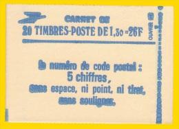 Carnet  De 20T  2059-C4a Gomme  Tropicale Avec Numéro   Neuf** Cote 75€ - Carnets