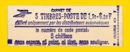 Carnet  De 5T  2059 C1a Neuf ** Complet TB Gomme  Tropicale - Carnets