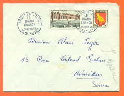 Enveloppe 1er Jour - Le Grand Trianon Versailles - 14 Avril 1956 - FDC