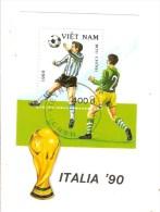 VIETNAM - BLOC FEUILLET OBLITERE - SPORT - COUPE DE MONDE DE FOOTBALL - Vietnam