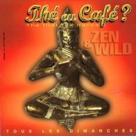 Marque-page °° Thé Ou Café à La Traverse - 75 Paris - Zen Et Wild - 12x12 - Bladwijzers