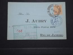 BRESIL - Carte Commerciale Pour Rio En 1928 - A Voir - Lot P14689 - Briefe U. Dokumente