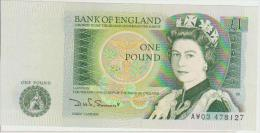 Great Britain 1 Pound 1978-80 Pick 377b UNC - 1952-… : Elizabeth II