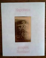 STAFFA Napoleon 1 BLOC DE LUXE OR. Neuf  Sans Charniere   (MNH) - Napoleone
