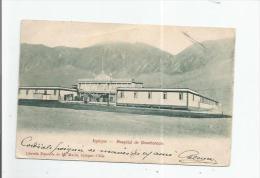 IQUIQUE HOSPITAL DE BENIFENCIA 1908 (BELLE OBLITERATION) - Chili