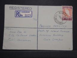 Malaisie - Enveloppe En Recommandée De Kemaman Pour Lumpuren 1959 - Aff. Plaisant - A Voir - Lot P14695 - Federation Of Malaya