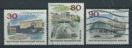 Berlino Usato 1965 - Mi.257; 262; 263 - [5] Berlin