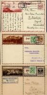 3414 Austria , 3 Stationery Cards  As Scan   , - Interi Postali
