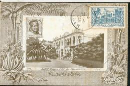 Carte Maximum, Alger   Palais Du Gouverneur - Algiers
