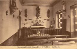 76 Bolbec. Pensionnat Sainte Genevieve. La Chapelle - Bolbec