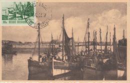 Carte-Maximum BELGIQUE N°Yvert 918 / Ostende - 1934-1951