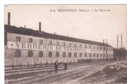 Carte Postale Ancienne Du Rhône - Vénissieux - La Verrerie - Vénissieux