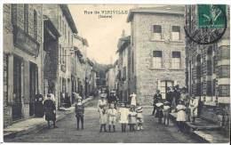 Rue De Viriville ( Isère ) - Viriville
