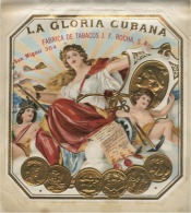 Lithographie Originale La Gloria Cubana - Cigares - Accessoires