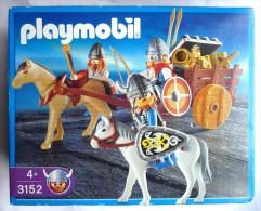 PLAYMOBIL BOITE 3152 CHAR VIKING 2002 Intérieur TBE JAMAIS OUVERT - Playmobil