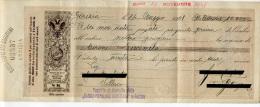 CAMBIALE BANCA POPOLARE GORIZIANA ANNO 1908 - Otros