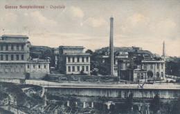 CARTOLINA: GENOVA SAMPIERDARENA - OSPEDALE - (LIGURIA) - VIAGGIATA - F/P - B/N - LEGGI - Otras Ciudades