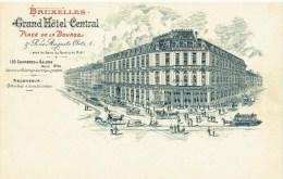 BRUXELLES - Grand Hôtel Central - Place De La Bourse & Rue Auguste Orts 1 - Brussel (Stad)
