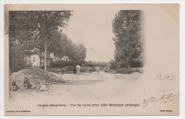 93 SEINE SAINT DENIS - GARGAN (Bondy Forêt) Vue Du Canal Prise Allée Monthyon Prolongée - Livry Gargan