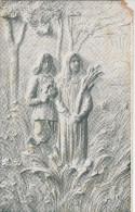 Carte Poste Sculpture, Edition Louis Duparque, Florenville (coin Abimé) (pk28730) - Florenville