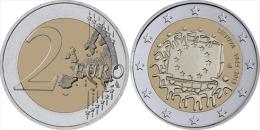 "LITHUANIA  /  LIETUVA    2€ Bimetálica  2.015  2015   ""30 Years Of The U.E. Flag""   SC/UNC   T-DL-11.478 - Litauen"