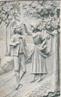 Carte Poste Sculpture, Edition Louis Duparque, Florenville  (pk28731) - Florenville