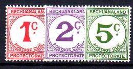 Y1504 - BECHUANALAND 1932 , Segnatasse Serie N. 4/6  ***  MNH - Bechuanaland (...-1966)