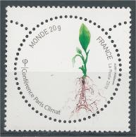 France, COP21, UN Climate Change Conference, Paris, 2015, MNH VF - Unused Stamps