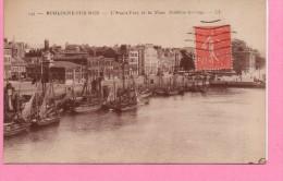 BOULOGNE SUR MER L AVANT PORT ET LA PLAGE - Boulogne Sur Mer