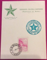 "ESPERANTO - ESPERANTA FILATELA EKSPOZICIO ""RODRIGUES DE ABREU"" - BAURO - S,PAULO - BRASIL BRASILE 1949 - Esperanto"