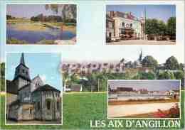 CPM Les Aix D'Angillon (Cher) - Les Aix-d'Angillon
