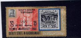 Saudi Arabia- Qu´Aiti State In Hadhramaut,  Michel # 222,  MNH  1968   Efirmex Mexico City - Arabie Saoudite