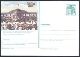 Deutschland Germany Airships Zeppelin 1978 Stationery Card: ILA Internationale Luftschiffahrt Ausstellung 1909 Frankfurt - Airships