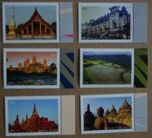 Y2 Nations Unies (New York)  : Patrimoine Mondial. ASIE Du Sud-Est - Unused Stamps