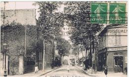"""France:92.hauts De Seine.  Asnieres Sur Seine.""""la Rue De Bretagne"""" - Asnieres Sur Seine"""