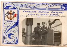 Polaire - Expédition Arctique Française à Bord Du Jacques Cartier 12 Avril 1908 - TAAF : Franse Zuidpoolgewesten